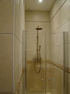 Salle de bains dans l'établissement Gentilhommière Eaux Bleues