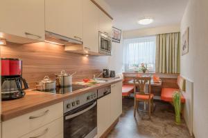 Küche/Küchenzeile in der Unterkunft Apart Wiesengrund