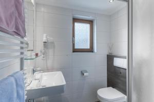 Ein Badezimmer in der Unterkunft Apart Wiesengrund