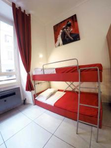 Litera o literas de una habitación en Palladini Hostel Rome