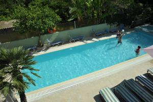 A view of the pool at Anseli Hotel or nearby