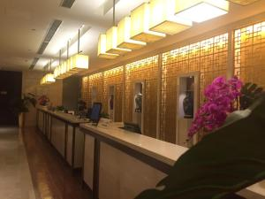 The lobby or reception area at Grand Soluxe Hotel Xi'an