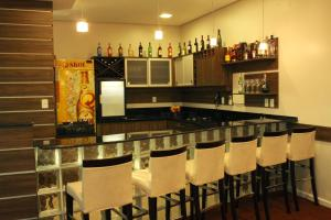 Кухня или мини-кухня в Hotel 44