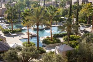 A view of the pool at Four Seasons Resort Marrakech or nearby