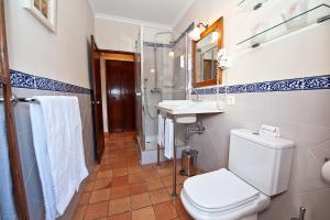 Un baño de Hotel y Apartamentos DES PUIG
