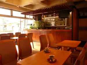 A restaurant or other place to eat at Hotel Harumoto