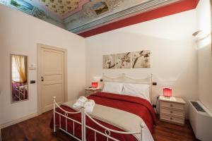 Letto o letti in una camera di Garibaldi 61
