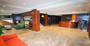 The lobby or reception area at Hotel Gernika - Adults Only