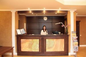 Лобби или стойка регистрации в Отель Переславль