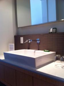 A bathroom at Hotel Ocho