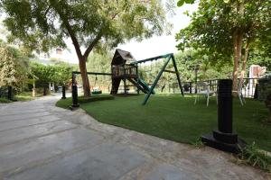 Children's play area at Wakan Luxury Villas and Suites