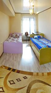 Кровать или кровати в номере Friendhostel