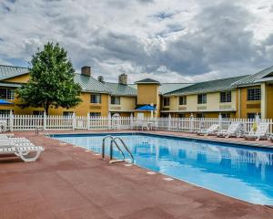 The swimming pool at or near Baymont by Wyndham Harrisburg