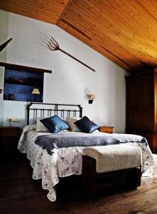 Cama o camas de una habitación en Casa Lueza