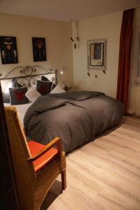 Ein Bett oder Betten in einem Zimmer der Unterkunft Hotel Storchen