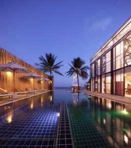 Бассейн в Malibu Koh Samui Resort & Beach Club или поблизости
