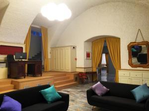 Area soggiorno di Hotel Trieste