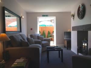 A seating area at No24 Ventnor