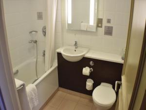 A bathroom at The Dragon Hotel