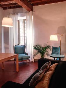 Zona de estar de Palazzo Capponi