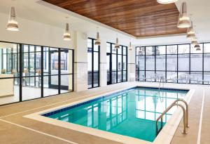 The swimming pool at or near Element Bozeman