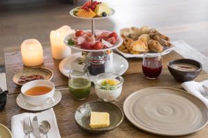 Frühstücksoptionen für Gäste der Unterkunft Wiesergut