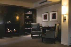 A television and/or entertainment center at Lyall Hotel And Spa