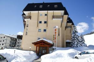 Hotel Olimpic durante l'inverno
