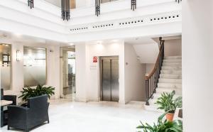 Lobbyn eller receptionsområdet på Monjas del Carmen