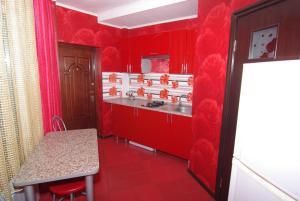 A kitchen or kitchenette at Guest House Belaiya Magnolia