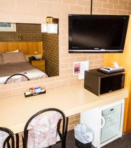 A television and/or entertainment center at Mildura Motor Inn