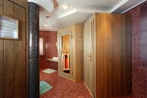 Kopalnica v nastanitvi Hotel Villa Argentina
