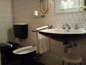 A bathroom at Hotel Miradouro