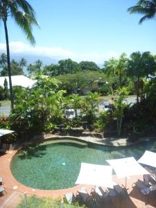 A view of the pool at Port Douglas Penthouse Suite or nearby