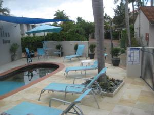 The swimming pool at or near Nautilus Noosa Holiday Resort