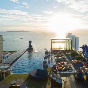 The swimming pool at or near Siam@Siam Design Hotel Pattaya