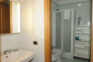 Salle de bains dans l'établissement Lux Appartamenti
