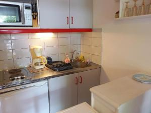 A kitchen or kitchenette at Studio Les Cyprianes-6
