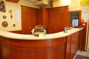 The lobby or reception area at Hotel Antico Distretto