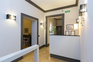 The lobby or reception area at Residenza Scipioni Luxury B&B