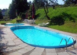 Bazén v ubytování Hotel Valaskuv Grunt nebo v jeho okolí