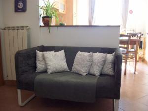 A seating area at Casa Mia