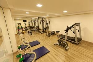 The fitness center and/or fitness facilities at Hotel Rafain Centro