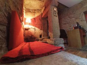 Uma cama ou camas num quarto em Casa de Campo das Sécias