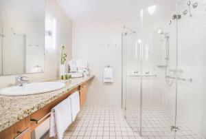 A bathroom at Collegium Leoninum