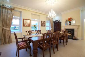 A restaurant or other place to eat at St Columbs House