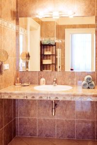 A bathroom at Apartment Vodičkova 11