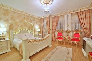 Кровать или кровати в номере White House Hotel Istanbul