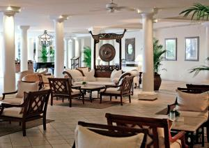 A restaurant or other place to eat at The Residence Mauritius
