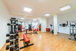 Centrum fitness w obiekcie Zielone Tarasy
